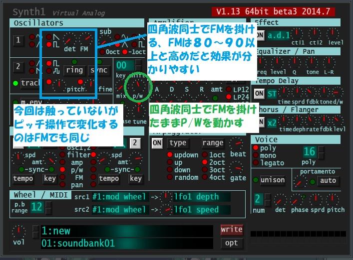四角波FM